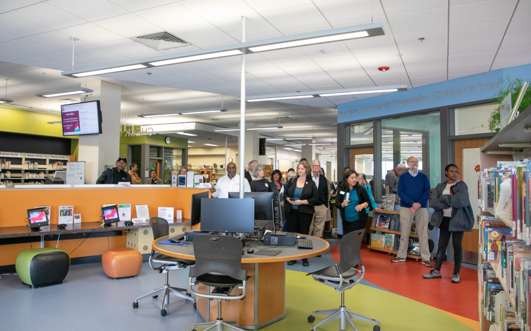Goodman South Madison Library Celebrates Renovations