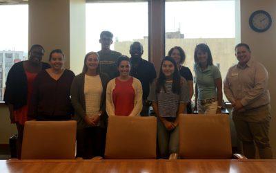 Interns Visit Stafford Rosenbaum for Lunch & Learn