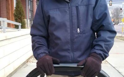 Pinney Bicycle Rack Honors Dad