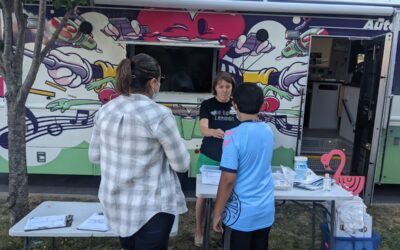 Dream Bus Loans Out 1,000+ Items Throughout Summer