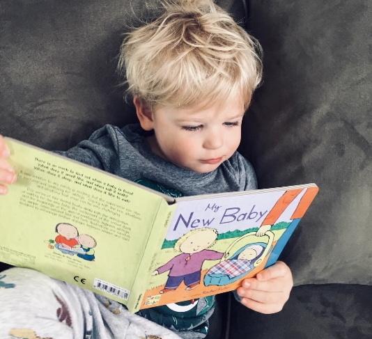 Parents as First Teachers_boy reading