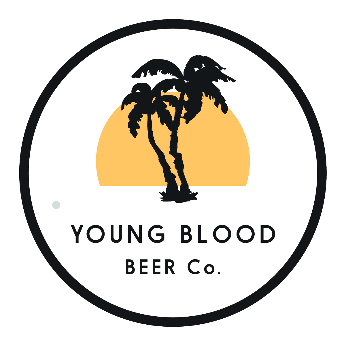 young blood beer co. logo