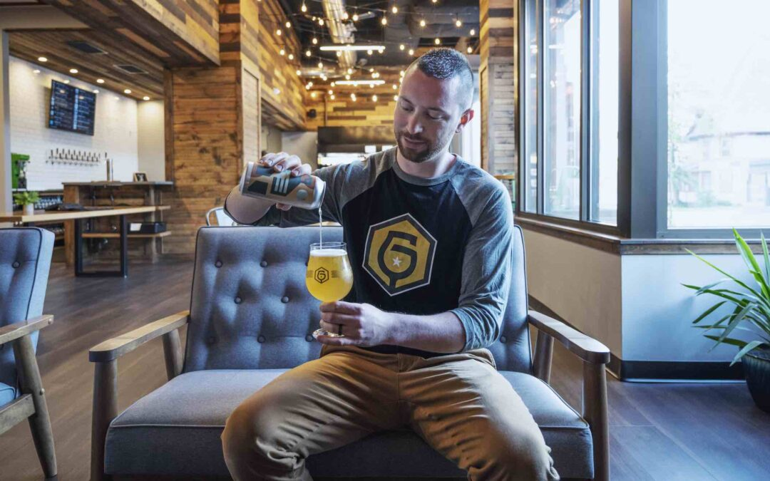 Garth's Brew Bar, Planned at the Library, Supports Ex Libris