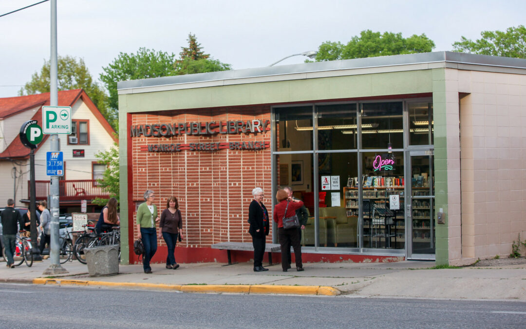 Support Sought to Expand Monroe Street Library Hours